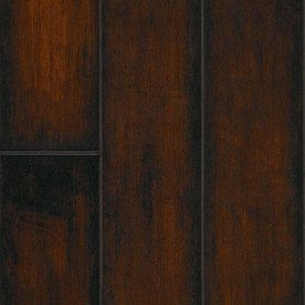 SwiftLock 5.28-in W x 50.5-ft L Hand Hewn Maple-Cocoa Smooth Laminate Wood Planks