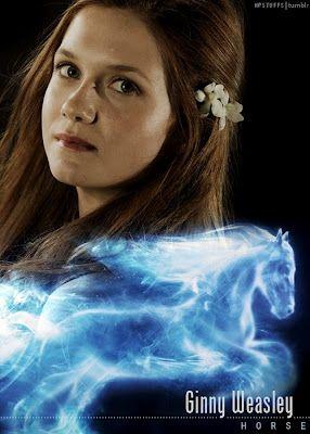 Harry Potter Cast Patronus    Ginny Weasley
