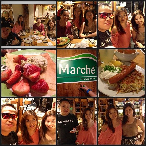 Marche Singapore has a variety of Meals to choose from including fresh fruit juices. #marche #singapore #travel #food