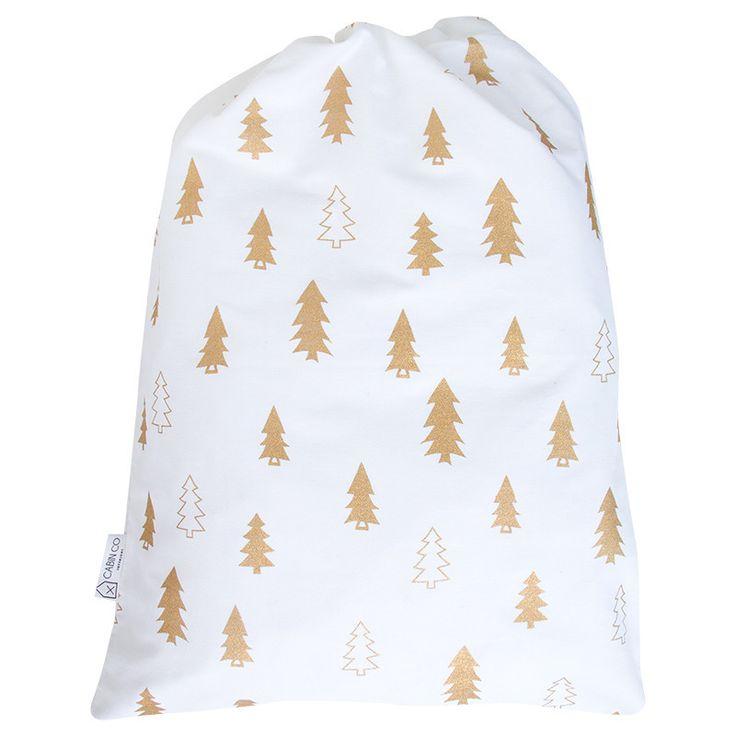 CHRISTMAS DELIVERY SANTA SACK - COPPER