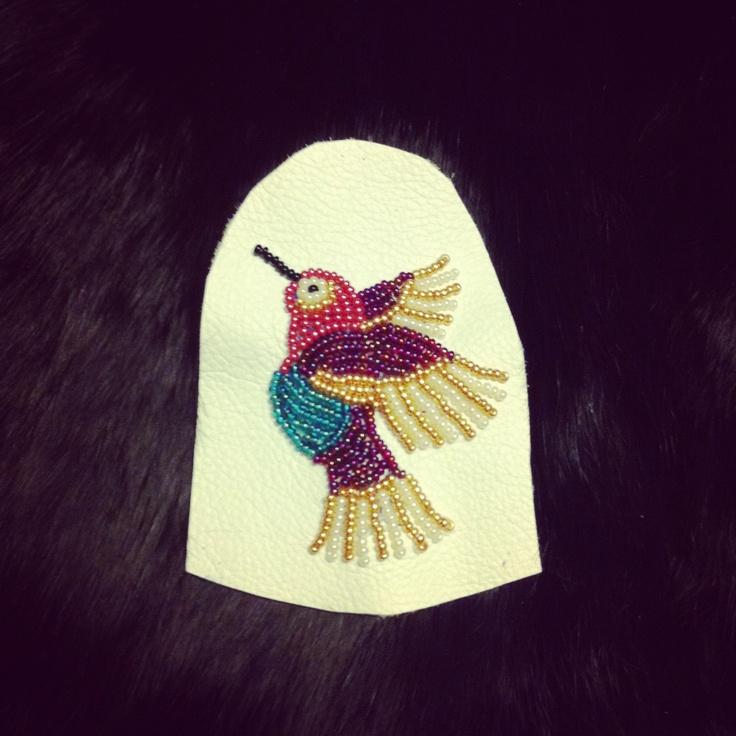 Original Design: Hummingbird Beadwork