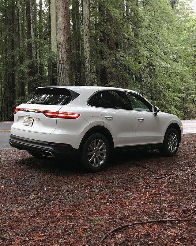 The 2019 Porsche Cayenne Caranddriver On Instagram We Re Driving Around Napa Valley Suv