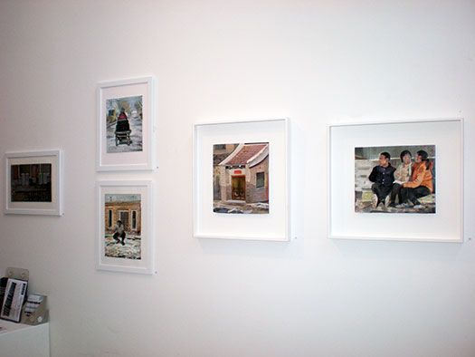 Steve Lopes 'China Studies', 22 October - 16 November 2013 at Stella Downer Fine Art, 2 Danks St, Waterloo (installation view)  Steve Lopes 'China Studies', 22 October - 16 November 2013 at Stella Downer Fine Art, 2 Danks St, Waterloo (installation view)