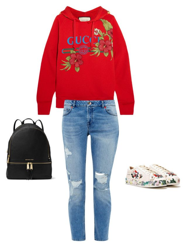 Hybiscus by mylittlestar on Polyvore featuring polyvore fashion style Gucci Ted Baker Nasty Gal MICHAEL Michael Kors clothing