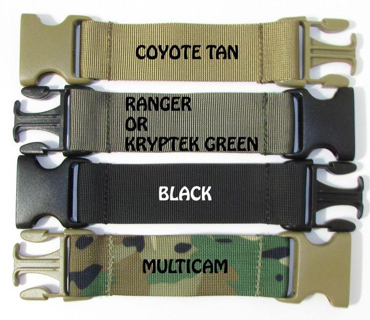 9 Girth Extender Strap For Tactical Police K9 Dog Vest Harness