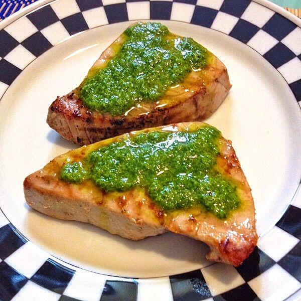 Filetti di tonno in salsa di zenzero