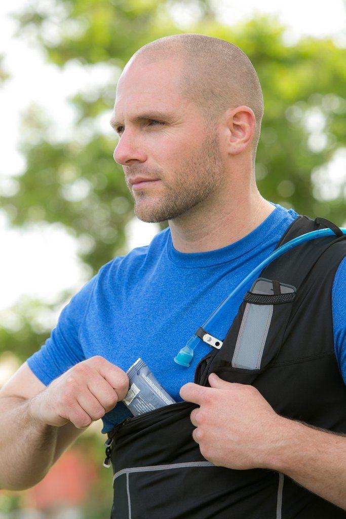 HYDROSPORT™ compression fit, convertible sport vest – SHOLDIT®