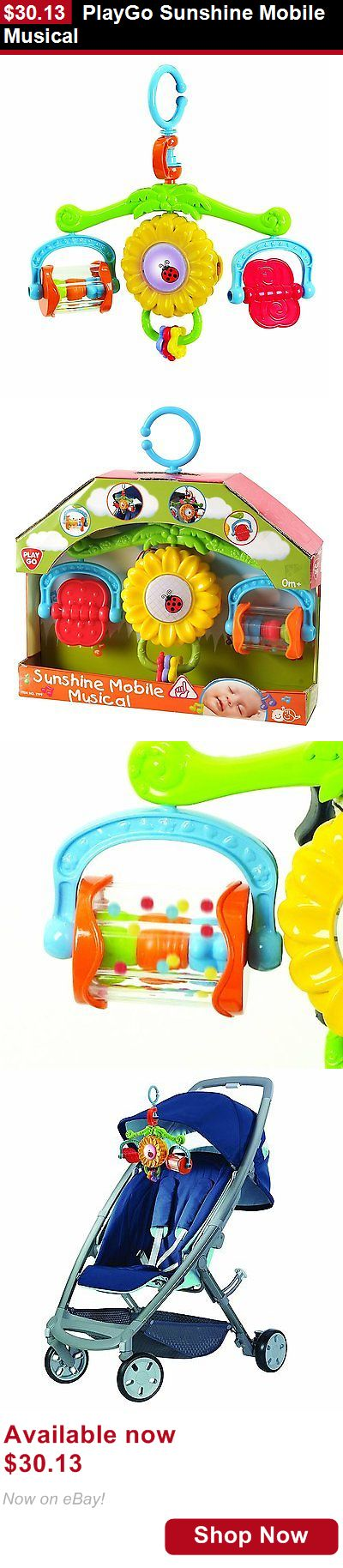 Crib Toys: Playgo Sunshine Mobile Musical BUY IT NOW ONLY: $30.13