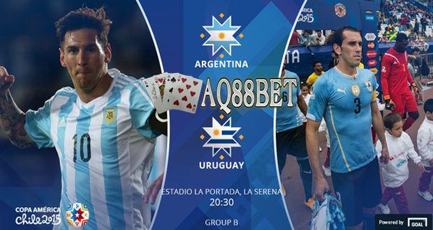 Agen Bola AQ88bet - Duel Panas Argentina vs Uruguay