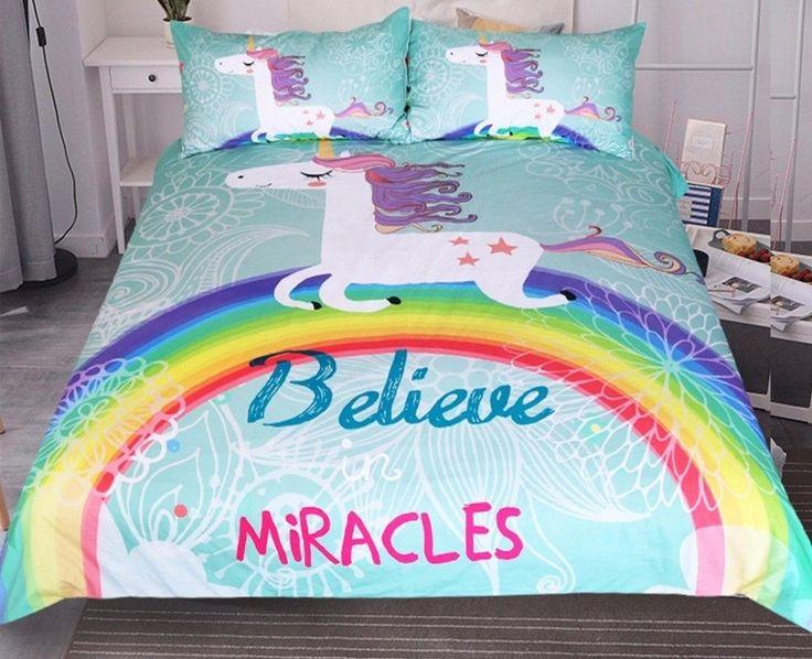 Best 25 Unicorn Bed Set Ideas On Pinterest Unicorn Bed Unicorn Cups And Light Up Unicorn