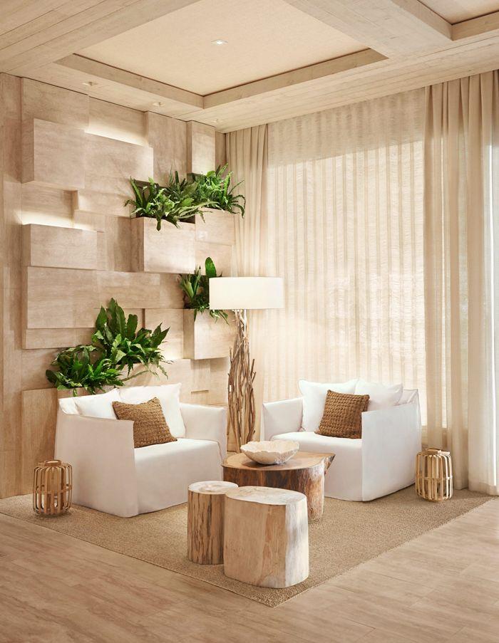 1 sobe miami high rise homes design by Debora Aguiar natural refined neutral lobby corner