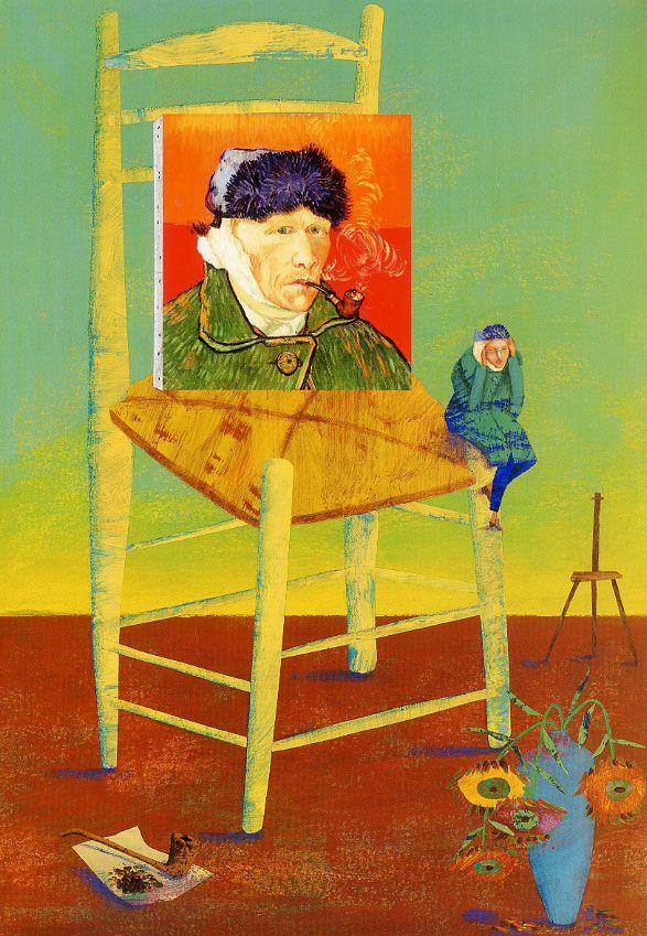 Vincent Van Gogh y los colores del viento - Chiara Lossani Ilustraciones: Octavia Monaco