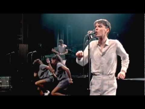 """""""Life During Wartime""""...Talking Heads live (sometime in the 80's).  Several musicians and back up singers joined the basic 4 during most of their concerts.  Try exercising to this song sometime...yikes!!!  """"This aint no party! This aint no disco! This aint no fooling around!"""""""