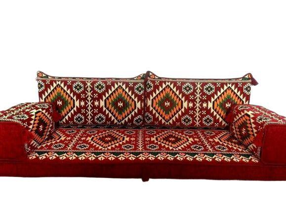 Details About Floor Seat Sofa Room Arabic Turkish Majilis Oriental Set Kilim Cushion Color 2020