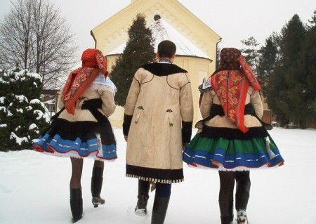 Kyjov folk costum; Zimní kroj sváteční
