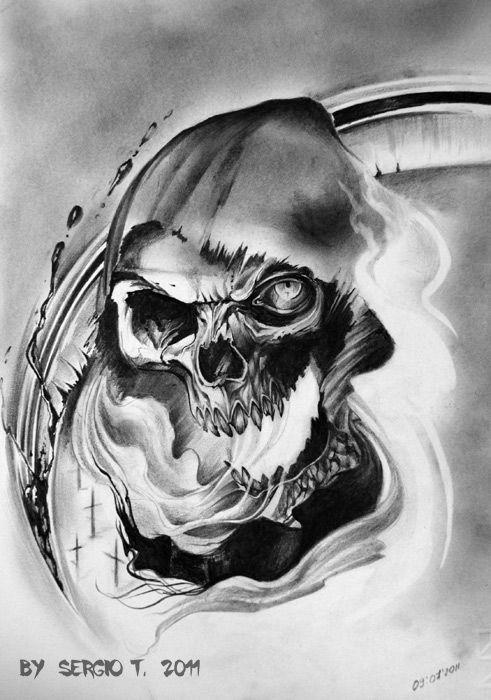 The Grim Reaper_02 by ~BoogyWoogy on deviantART