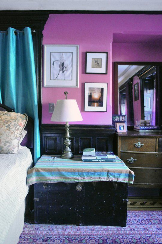 Paint color portfolio radiant orchid the color of the for Purple teal bedroom