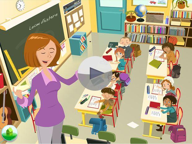 l'école expliquée aux enfants. Tu as envie de savoir depuis quand les enfants sont obligés d'apprendre des tas de leçons et de faire des tonnes d'exercices ? Rendez-vous dans la classe de mademoiselle Plusqueparfait !