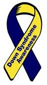 Down Syndrome Awareness ribbon