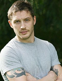 Tom Hardy. So good looking just looking at him makes my mood ten times better.