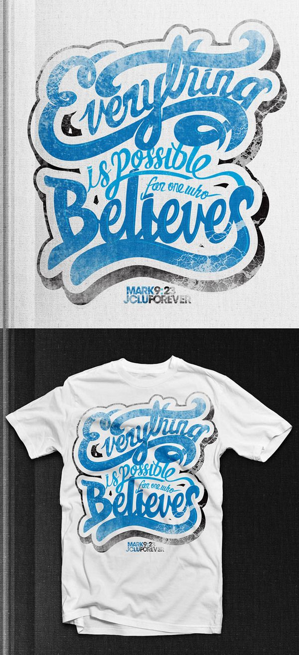 T shirt design inspiration typography - 35 Beautiful Typographic T Shirt Designs Inspirationfeed Com Part 2