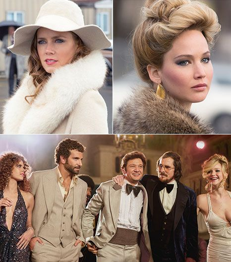 American Hustle- Christian Bale, Bradley Cooper and Jennifer Lawrence