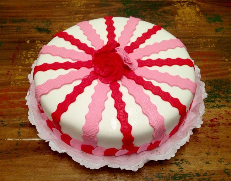 #torta #cake #pastel #cumpleaños #mujer #rosas #flores #libertinacandybar