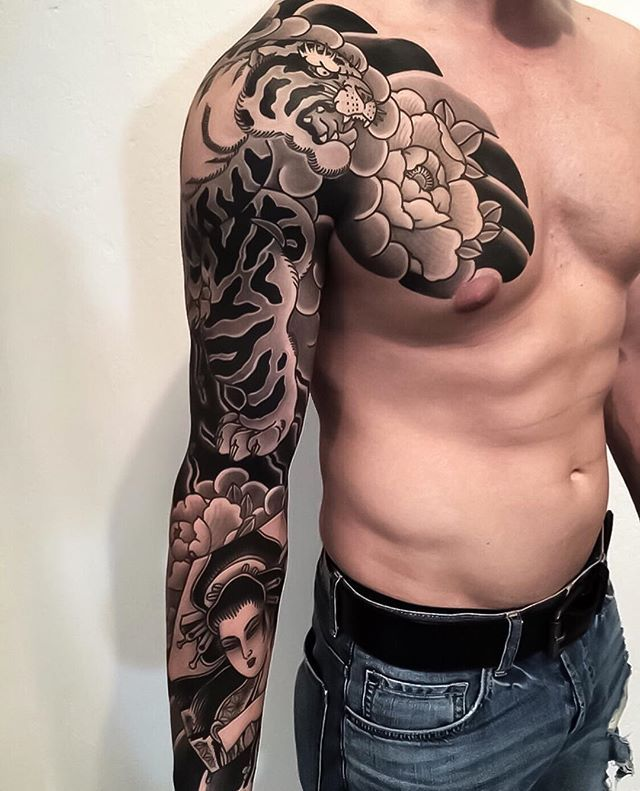 Japanese Ink Japanese Ink Instagram Photos And Videos Japanese Sleeve Tattoos Japanese Tattoo Sleeve Tattoos