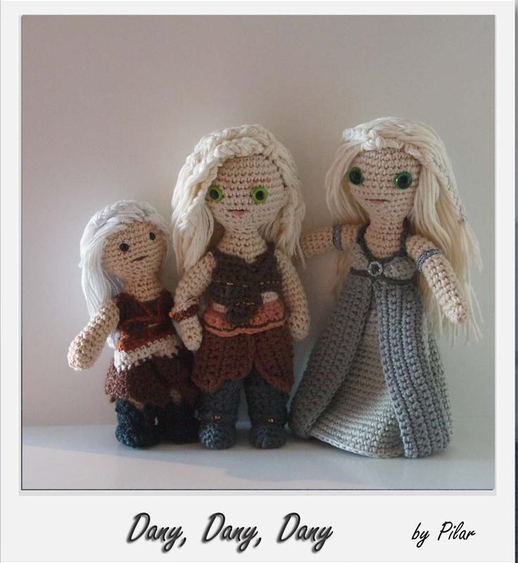 Crochet Patterns Game Of Thrones : ... amigurumi Game of Thrones crochet Pinterest Patrones Amigurumi