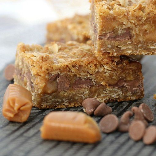 Our Thermomix Oat & Caramel Slice is always a winner! Filled with ooey-gooey caramel, oats and chocolate... talk about YUM!