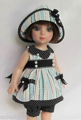 """OOAK PATSY'S SUNNY-DAY DRESSING! FOR 10"""" ANN ESTELLE, ETC. MADE BY SSDESIGNS"""