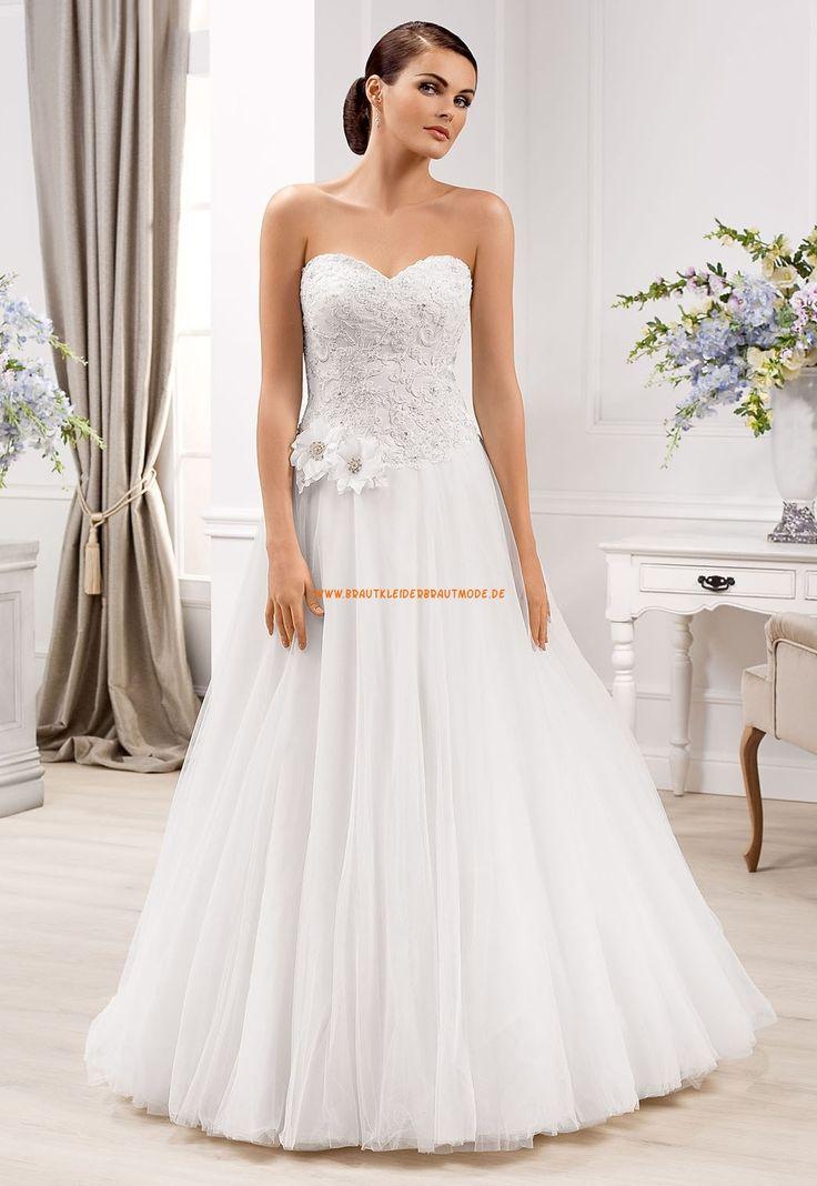 Süße Liebste Hochzeitskleider aus Softnetz