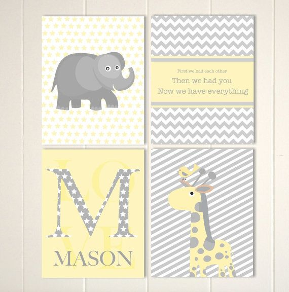 107 best Baby boy nursery art images on Pinterest | Baby boy ...