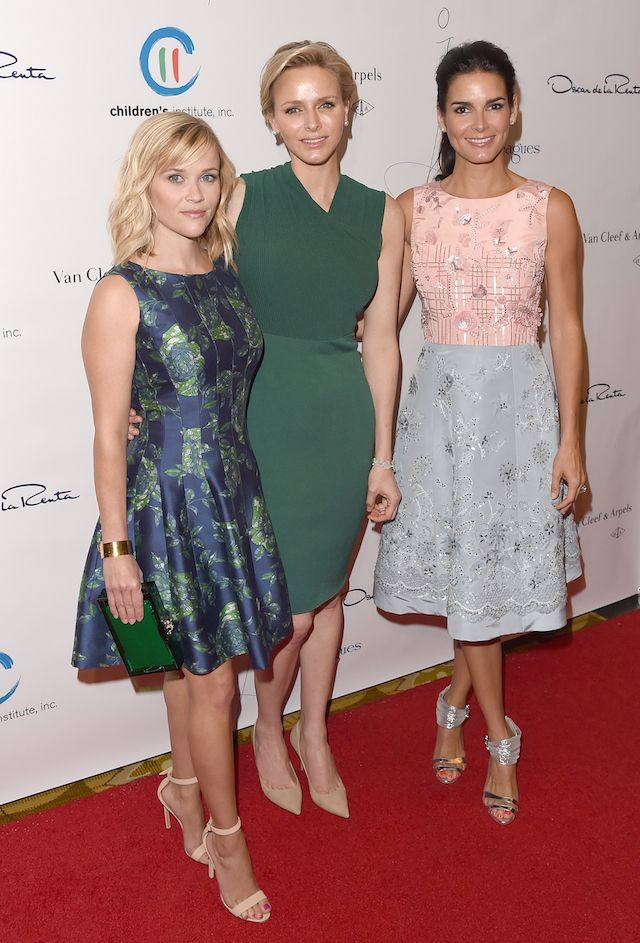 Princess Charlene was awarded Fund Children's Institute, Inc. At the annual dinner The Colleagues' Spring Luncheon