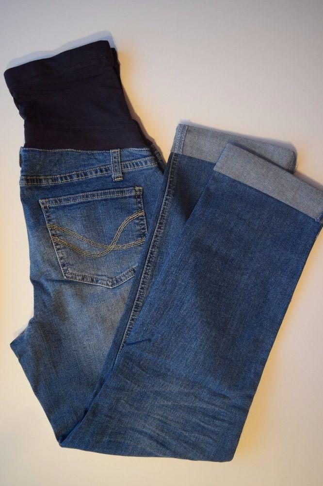 Umstandsmode Schwangerschafts-Mode Jeans für Schwangere gekrempelt  36 Blau in Kleidung & Accessoires, Damenmode, Hosen | eBay!