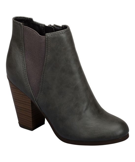 Gray Gail Bootie