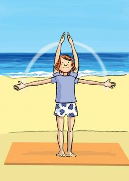 Physically calming an unsettled group  -  Pinned by @PediaStaff – Please Visit http://ht.ly/63sNt for all our pediatric therapy pins: Kids Time Management, Rowdi Group, Ocean Breath, Classroom Yoga, Brainbreak, Brain Break, Kids Behavior, Inhale Exhale, Classroom Management