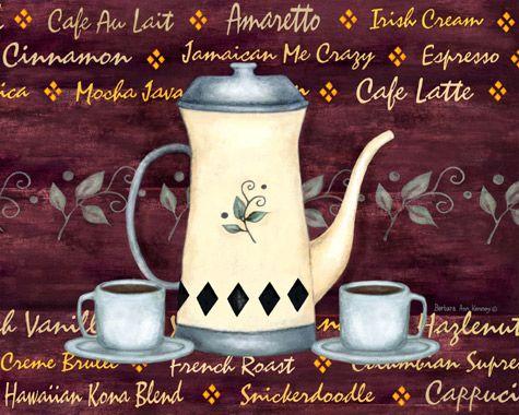 "Borboleta Azul Imagens Decoupage: Barbara Ann Kenney/Café: ☕️""Café""☕️"