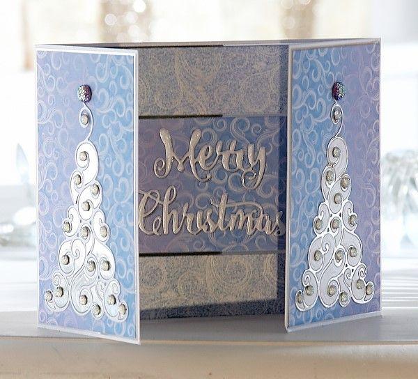 Contemporary Christmas Collection #SaraDavies #ChristmasCrafting #papercrafting…