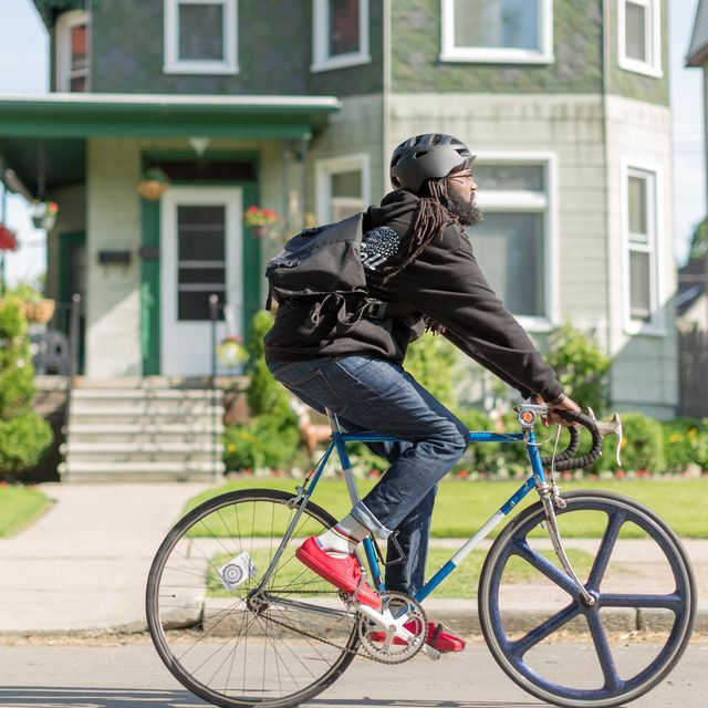 SAN FRANCISCO  -  Apple's newest iPad commercial turns the spotlight on Detroit community activist Jason Hall, co-founder of a massive weekly group bike ride through the city.  The 30- and 60-second spots --