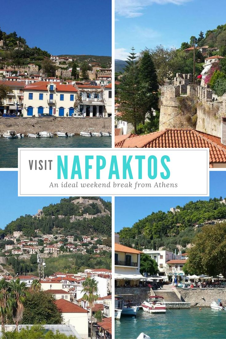 Visit Nafpaktos in Greece - An ideal weekend break from Athens.