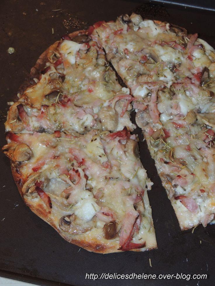 PIZZA WRAP REINE BLANCHE (WW)