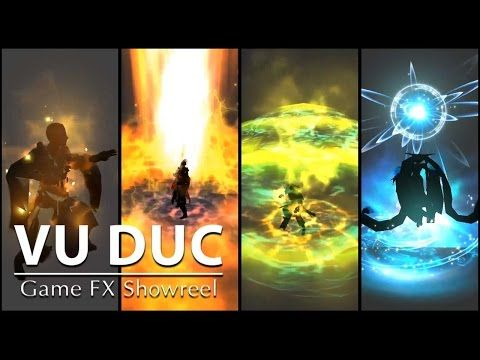 Game FX Showreel 2016 - by Vu Duc - Unity 3D Effect - YouTube