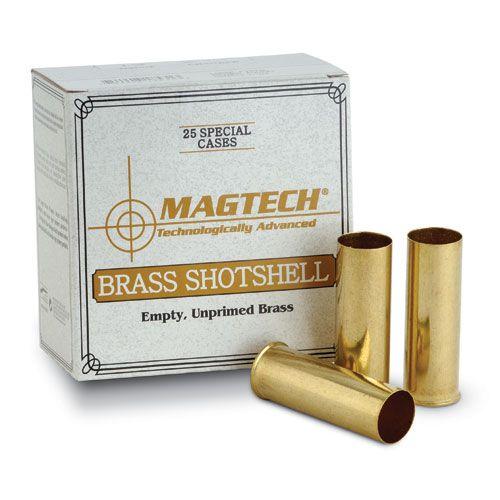 """Magtech 36 Gauge (.410"""") 2-1/2"""" Shotshell Reloading Brass Large Primer Pocket (Box of 25)"""