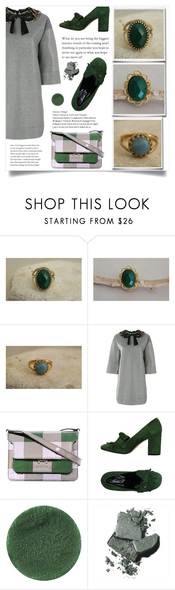"""""""Best Offers Boutique!"""" by samra-bv ❤ liked on Polyvore featuring Gucci, Marni, Anna F., Lipstick Queen, Bobbi Brown Cosmetics and vintage"""