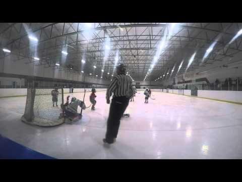 2016 Markham Waxers TYKE MD Playoff TNT vs Markham Game 1 - Hockey (Luck...