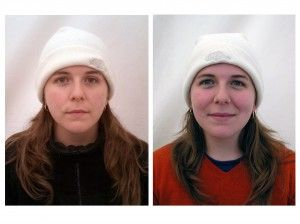 Before-after shots of subjects on 30-day silent meditation retreat. Fascinating. Peter Seidler photographer. (from shambalatimes.org)