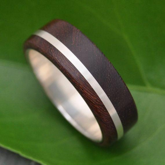 Wood Ring Solsticio Nacascolo ecofriendly wood by naturalezanica