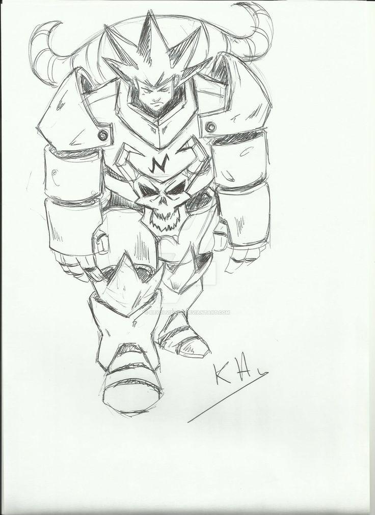 armadura grotesca by reyolvidado.deviantart.com on @DeviantArt