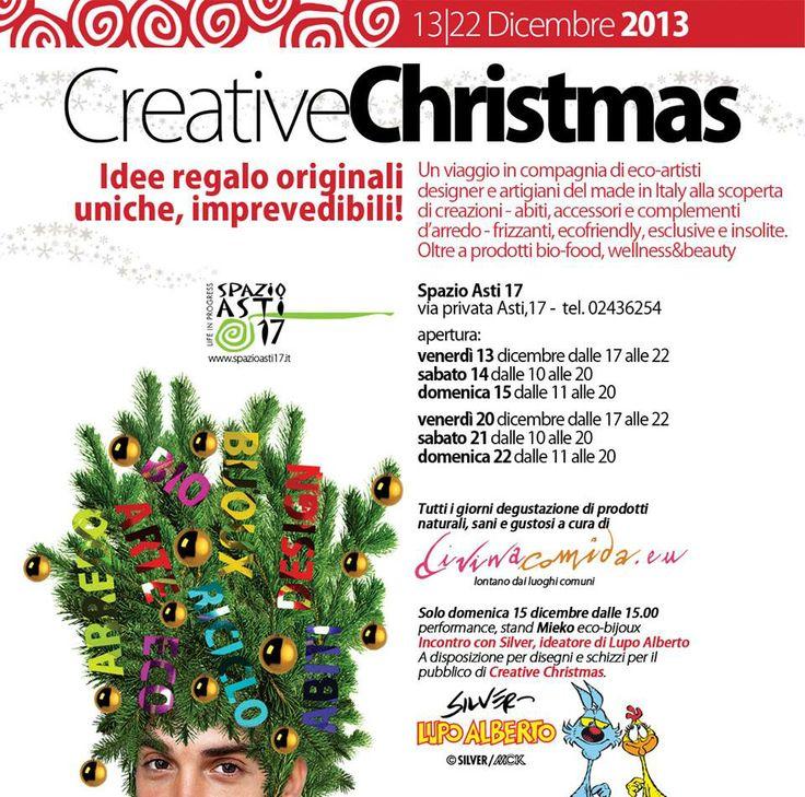 regali di natale, originali, insoliti e 100% made in Italy. Tanti designer con creazioni uniche tra cui la Mieko. Tre giorni da non perdere 13-14-15 dicembre 2013